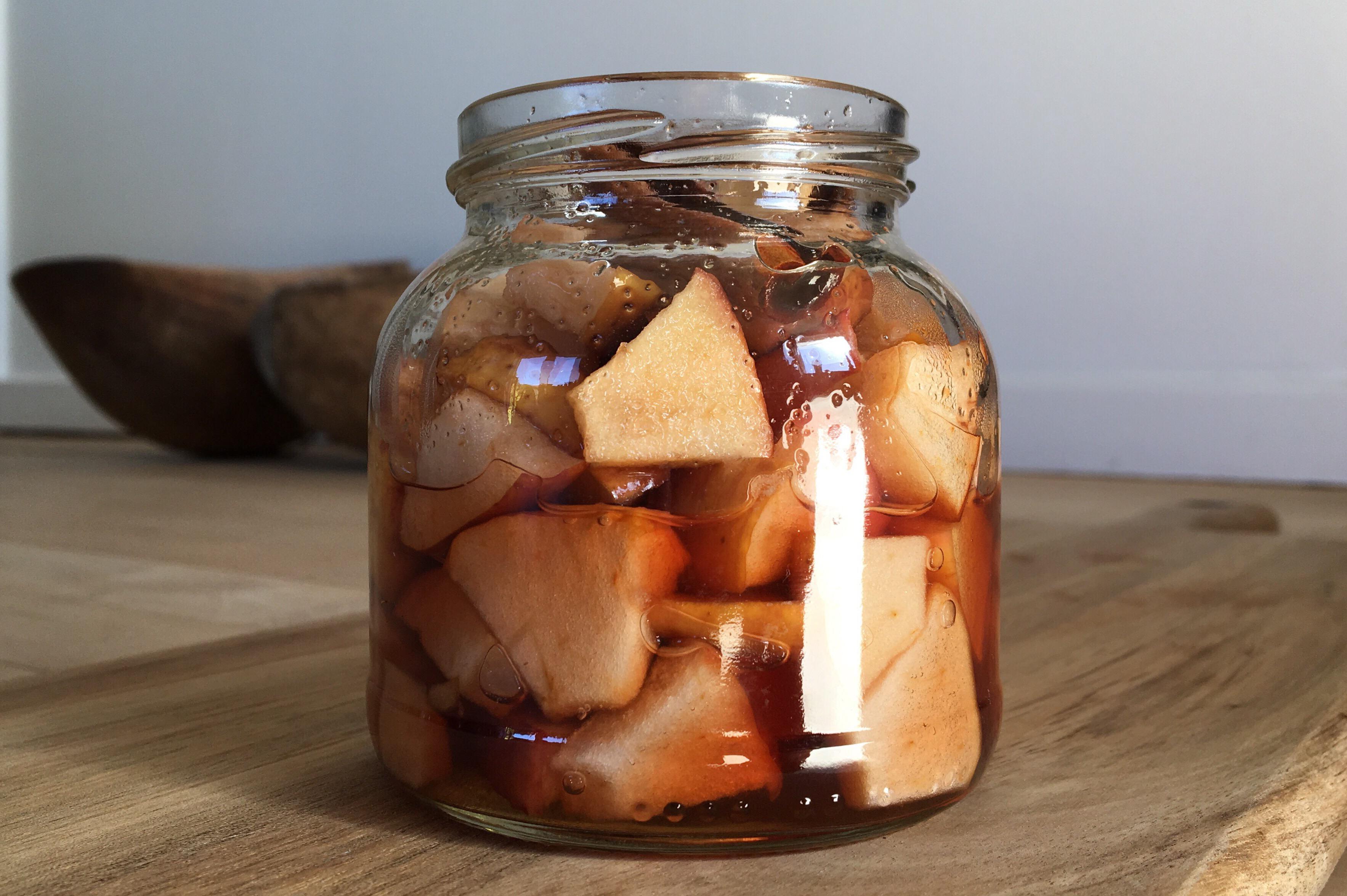 Syltet æblepickles