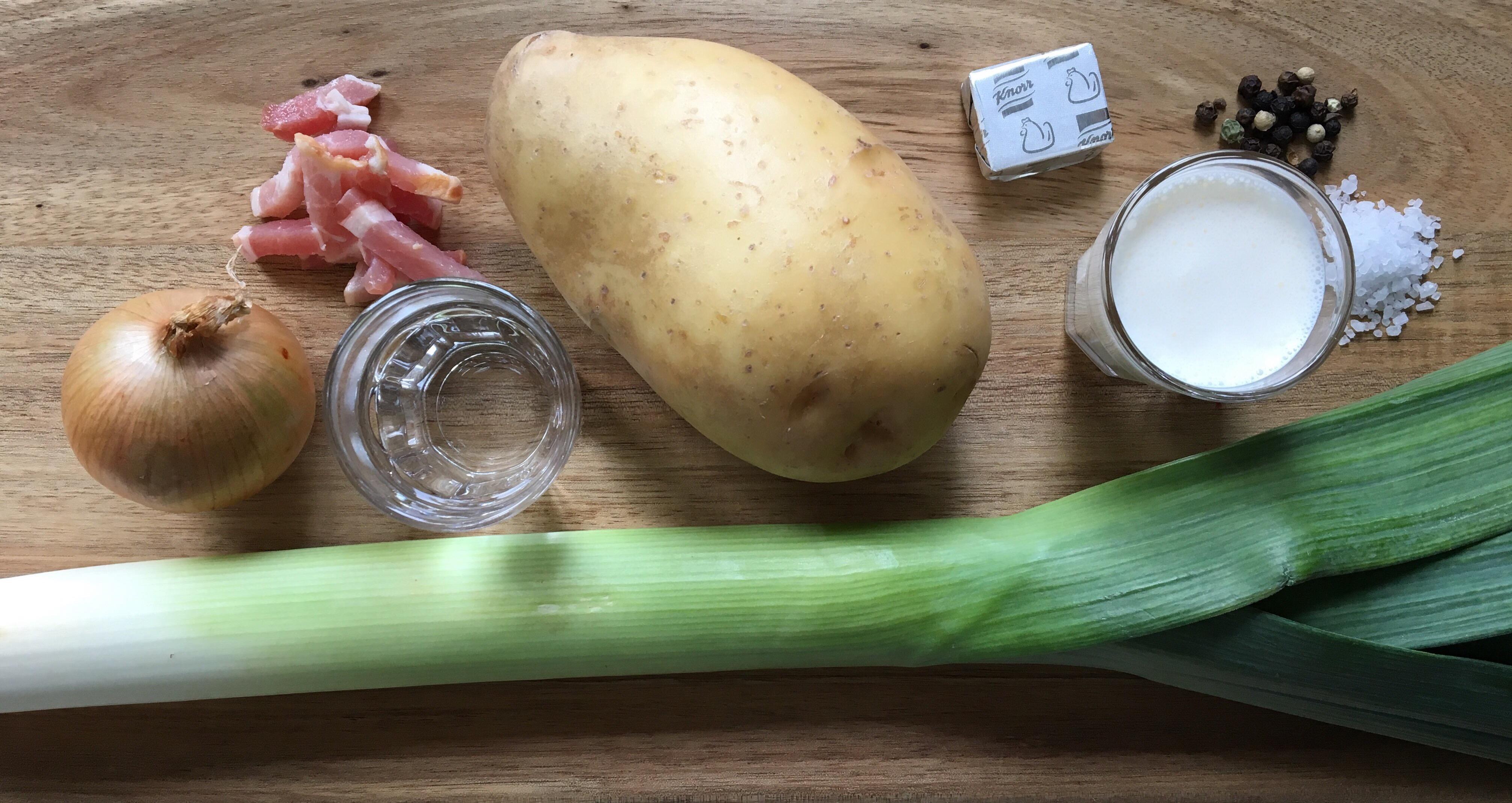 Ingredienser - Porresuppe