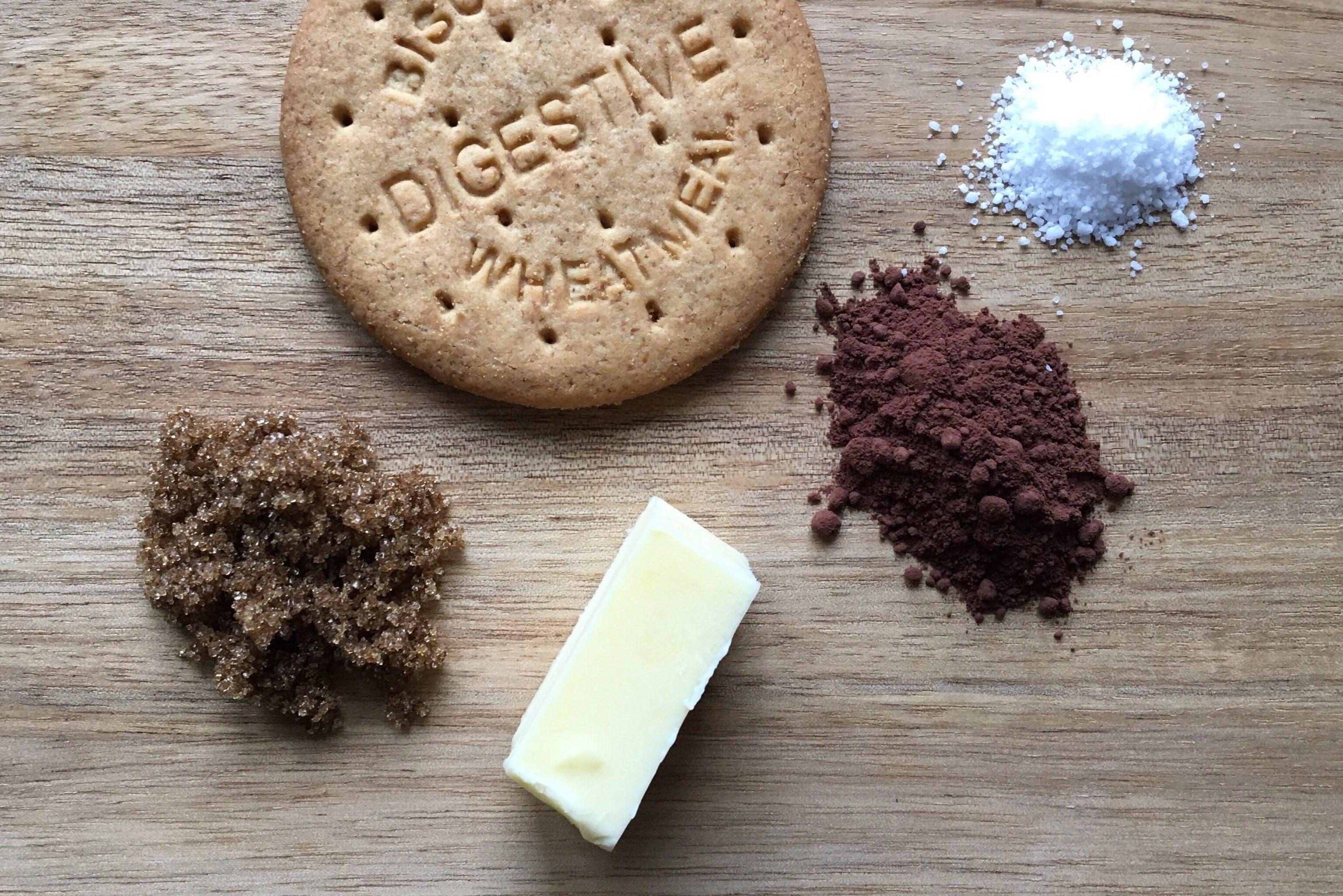 Ingredienser Mørk kiksebund