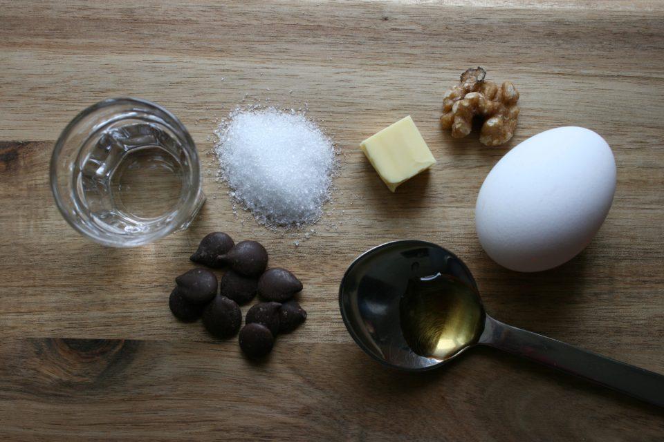 Ingredienser - Nøgen kage