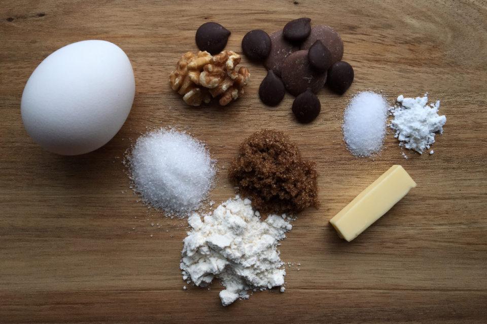 Ingredienser - Chocolate Chip Cookies