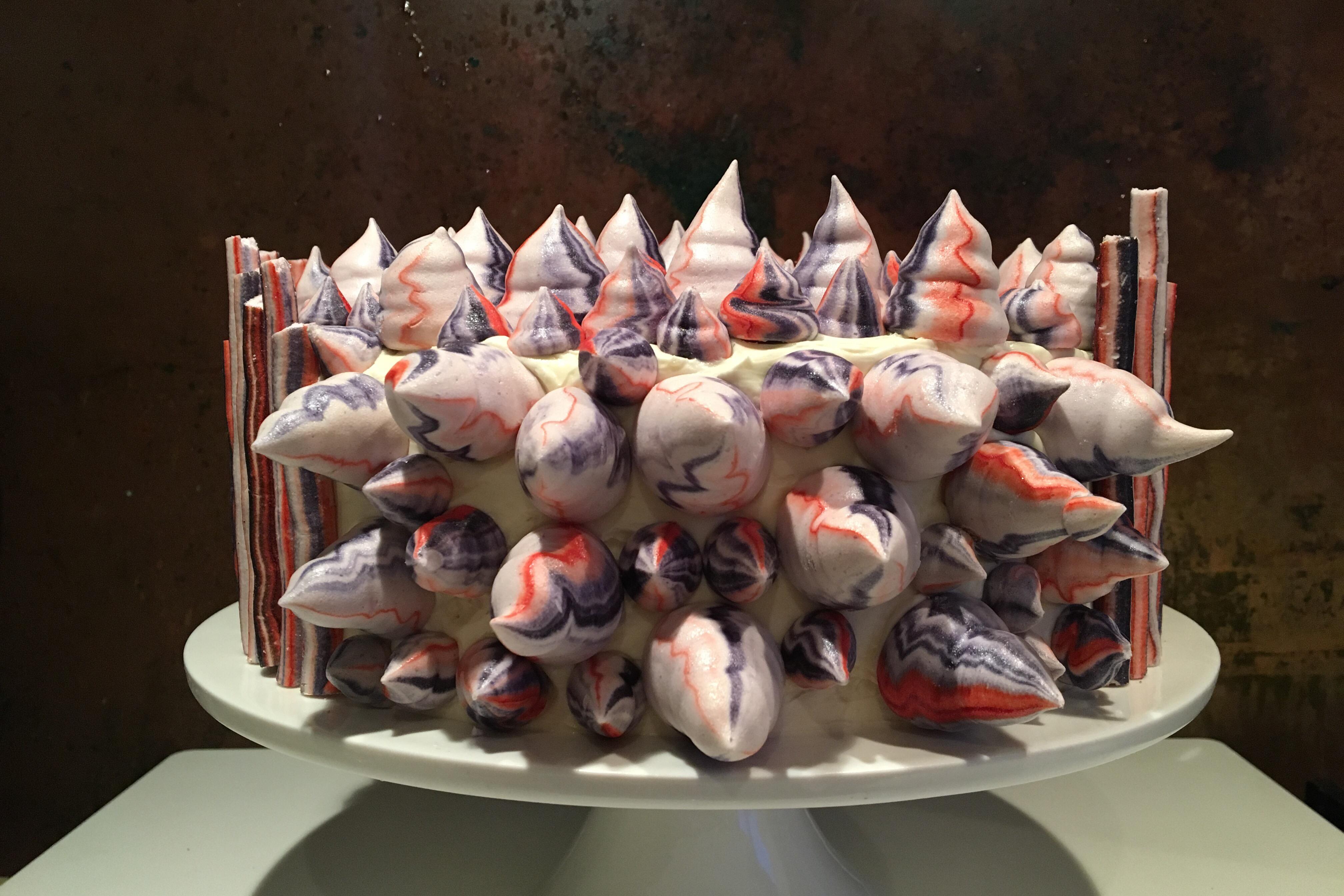 Red Velvet Cake – rødt fløjl møder marengs