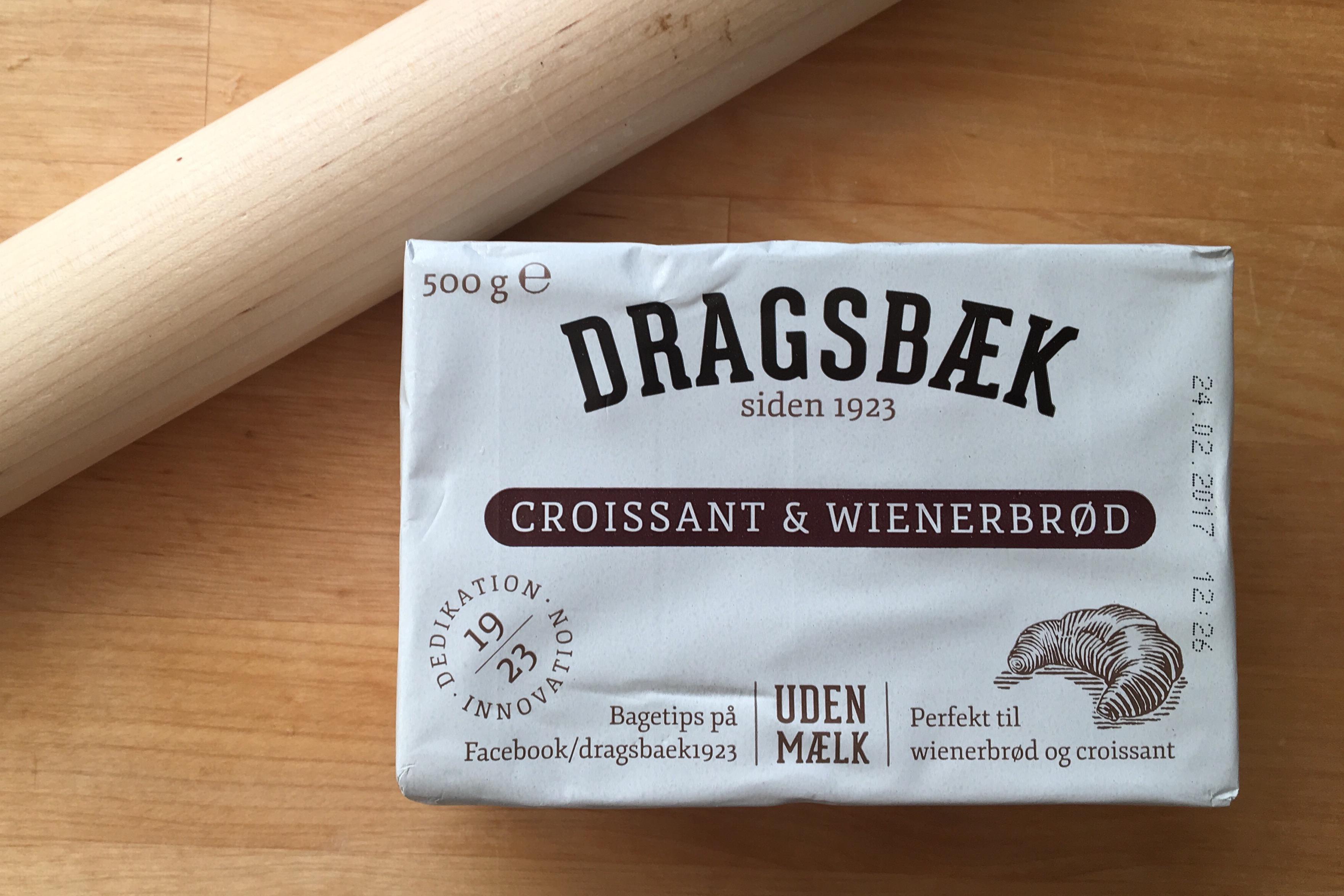 Dragsbæk margarine til croissants og wienerbrød