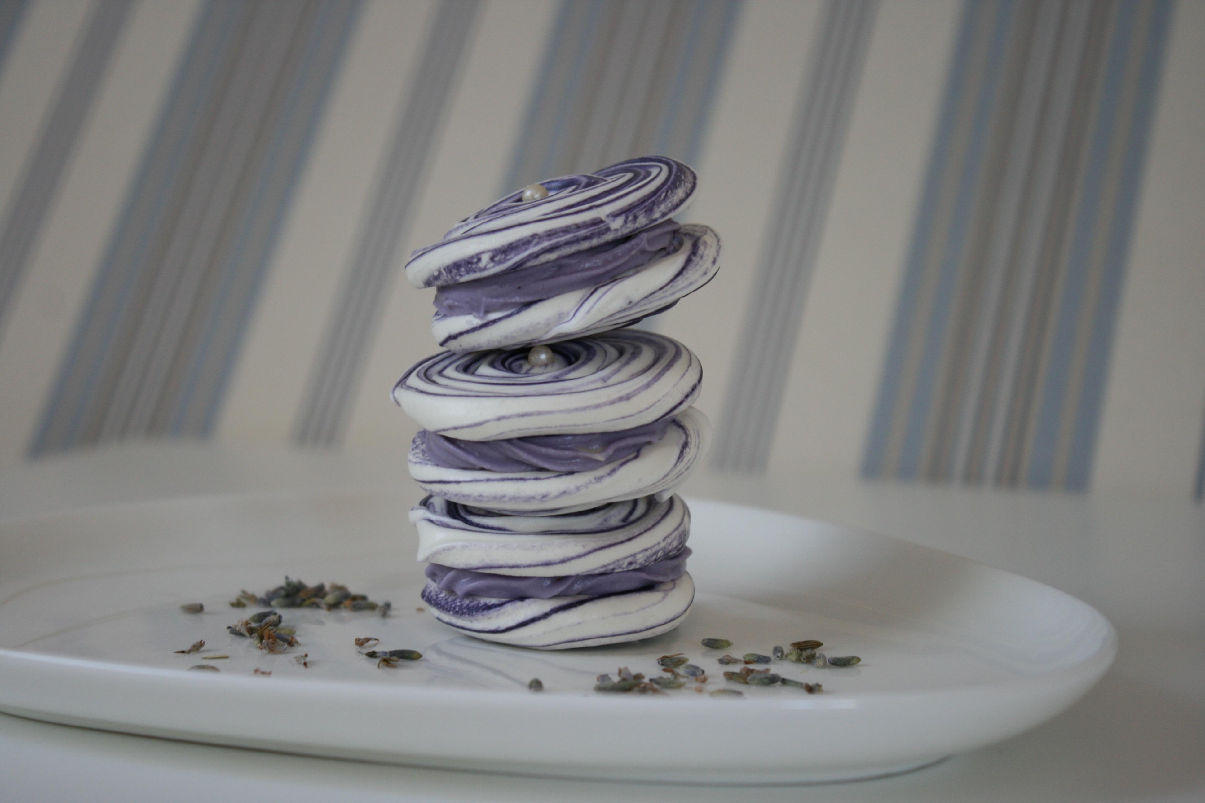 Lavendelmarengs