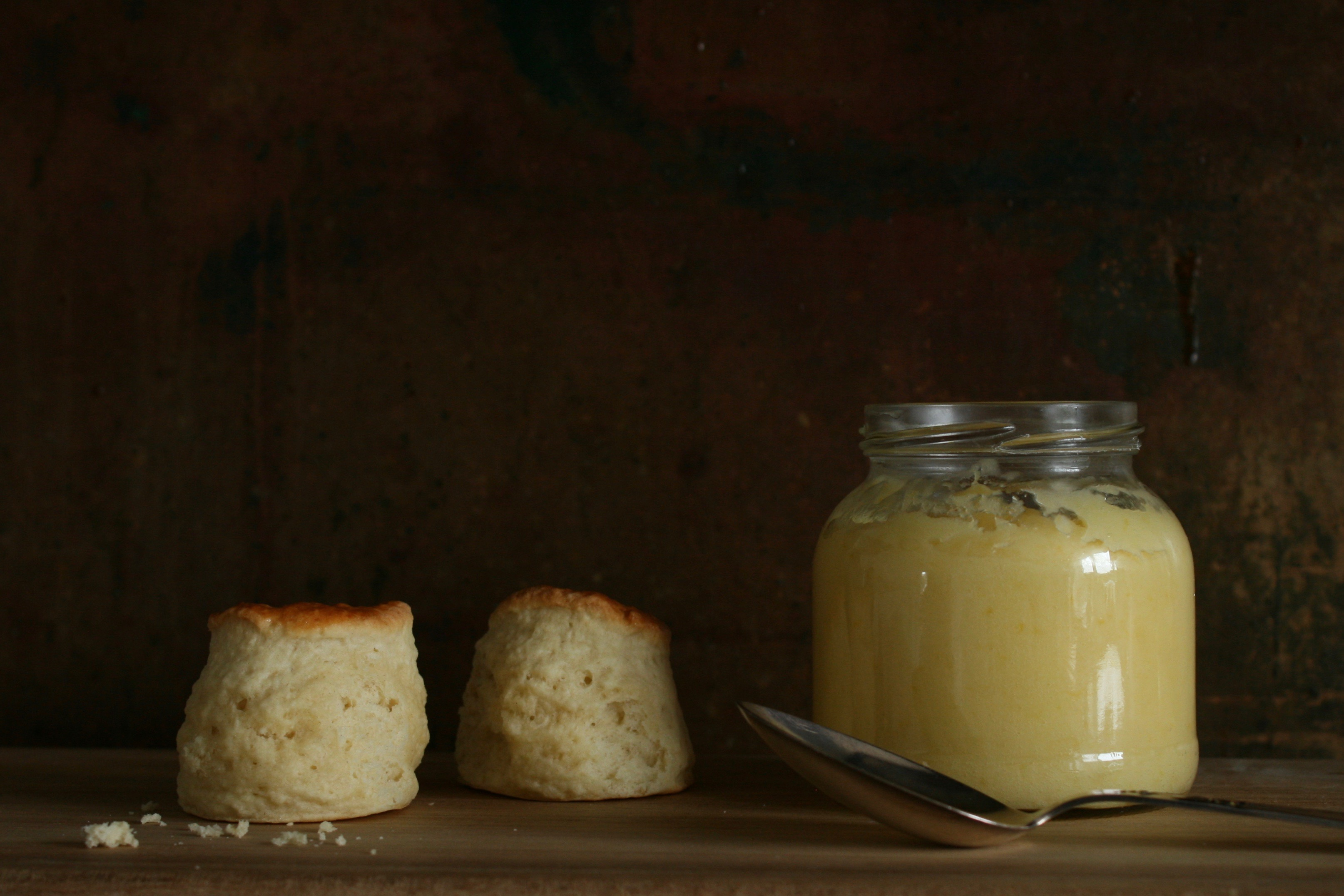 Scones og lemon curd – Afternoon tea