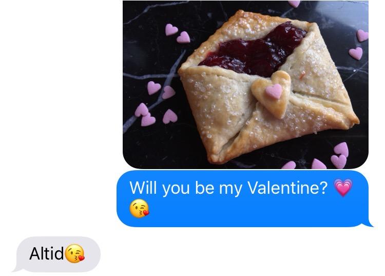 Kærestebreve med kirsebær