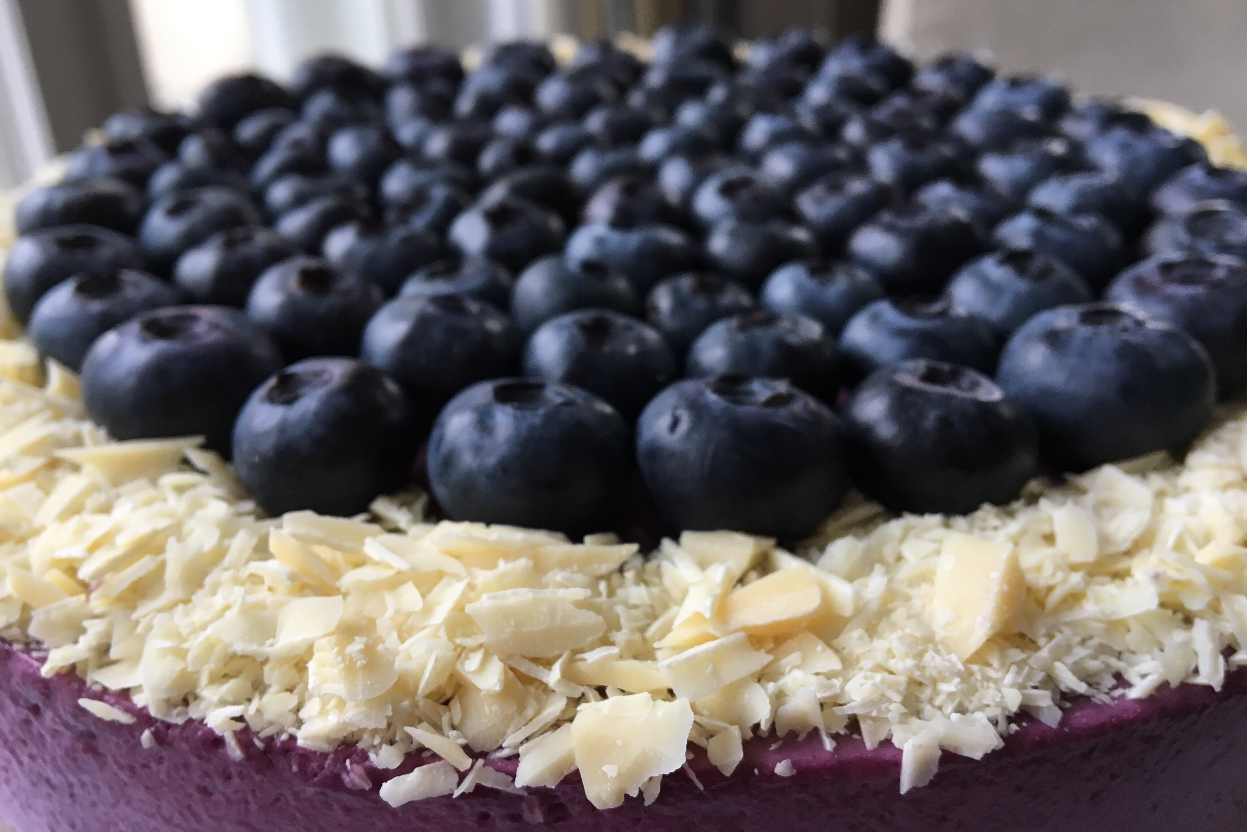 Blåbærmousse kage – til ukendte venner