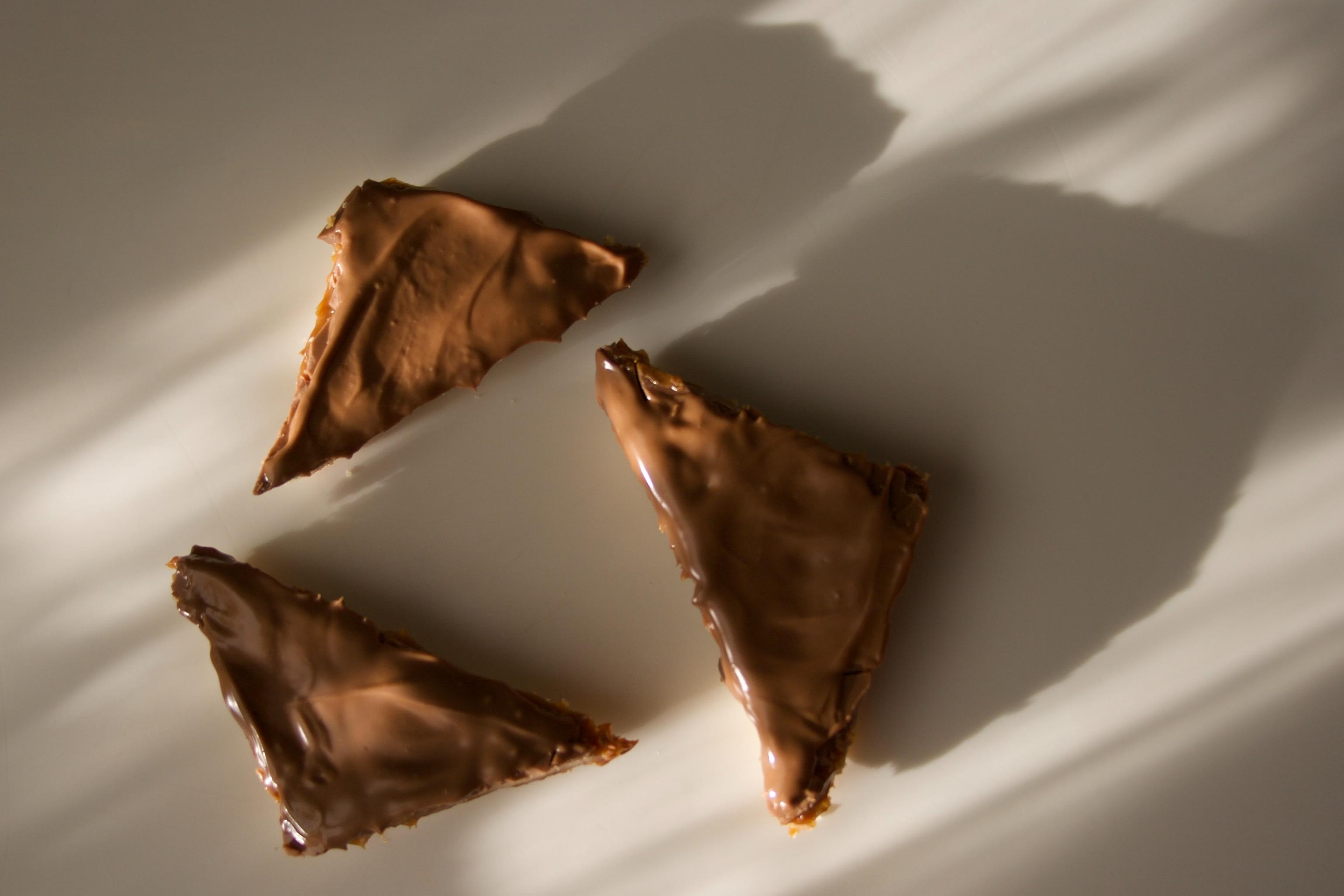 Happy Hips med karamel og chokolade