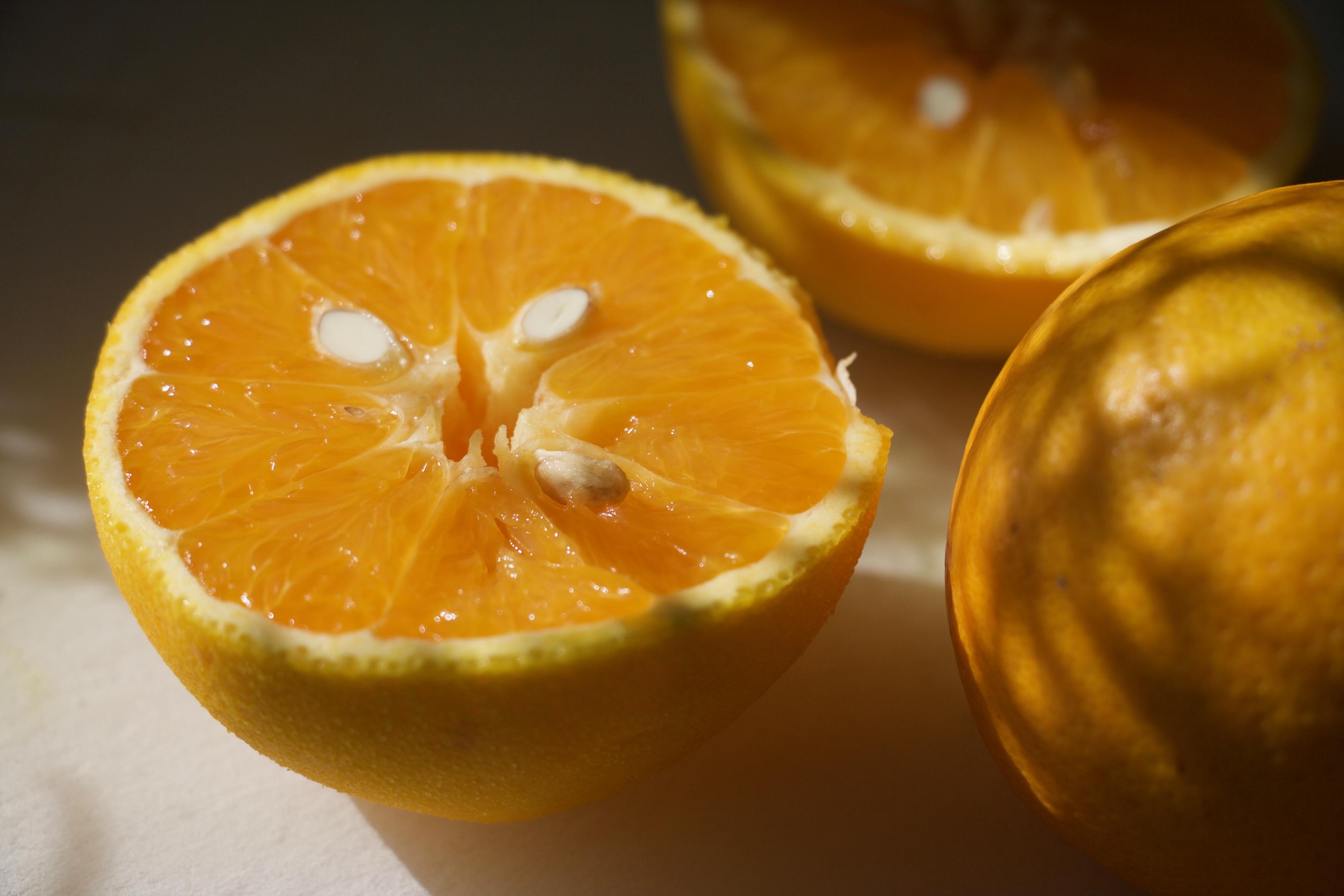 Appelsinkager med chiafrø