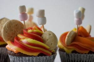 Midsommer cupcakes