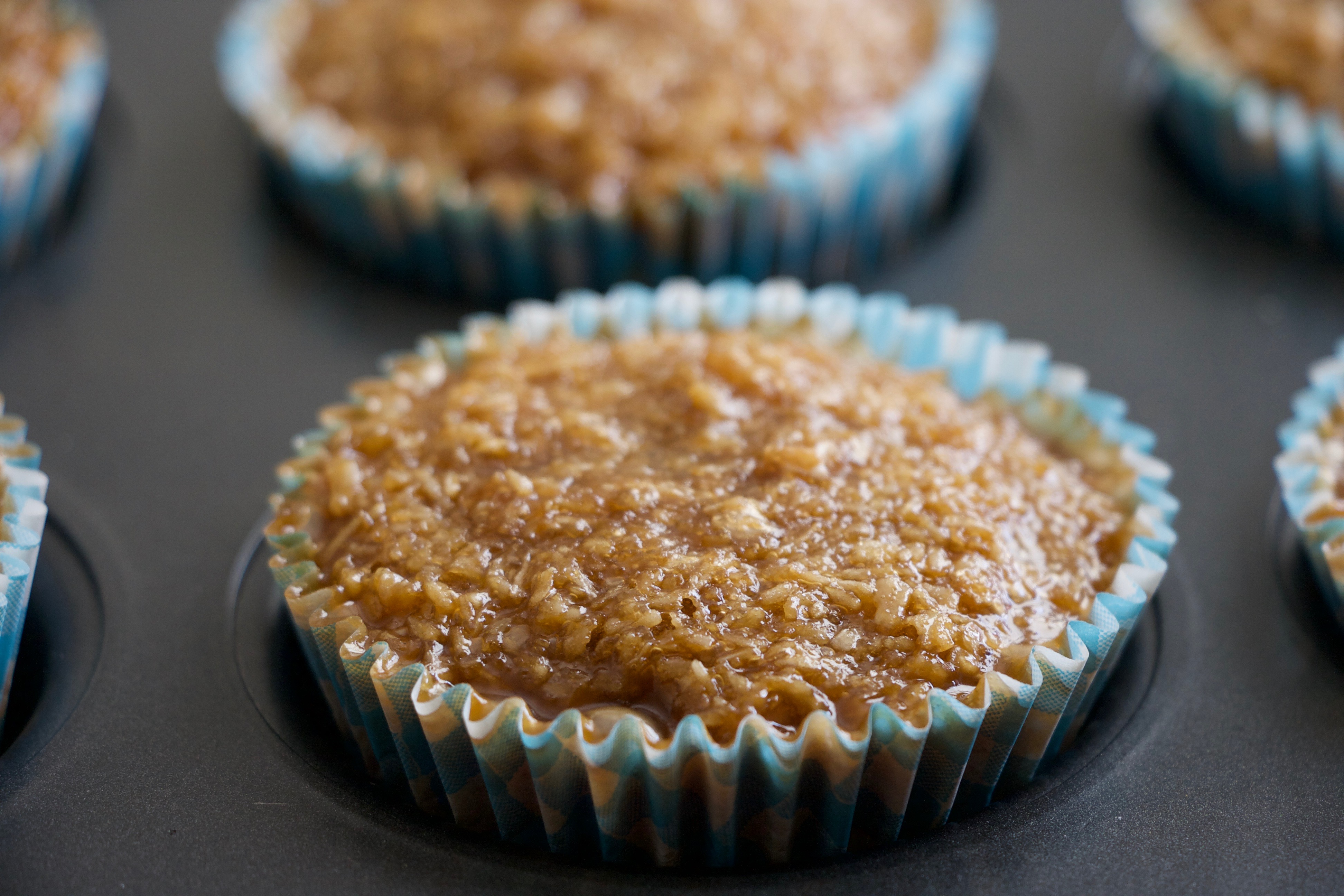Mille Marie muffins - drømmekage med marcipan