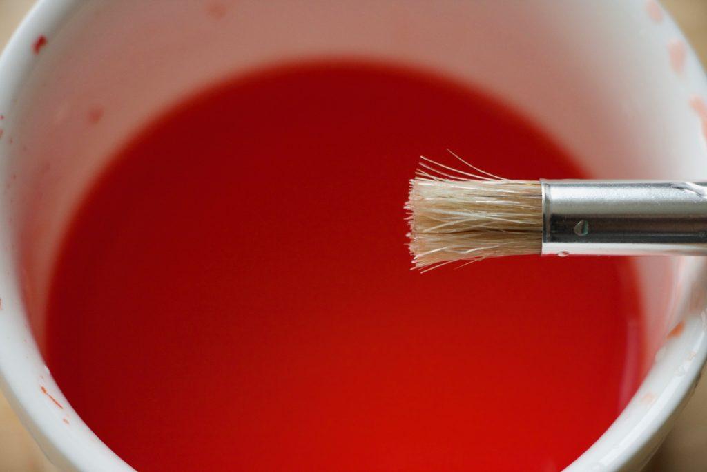 Rød farve
