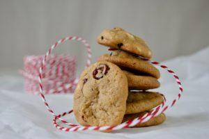 Tranebærcookies