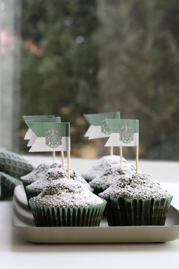 Slytherin cupcake