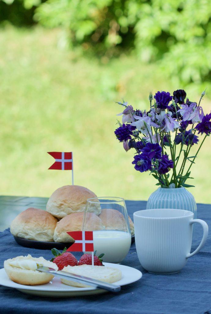 Fødselsdagsboller på Kronprins Frederiks fødselsdag.