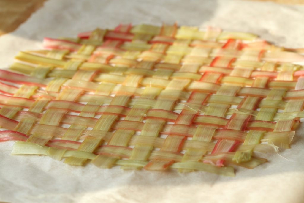 Rabarbercheesecake. Den smukkeste cheesecake fra Bagvrk.dk.