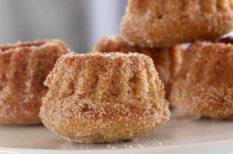 Churromuffins – en nyfortolkning af de klassiske churros