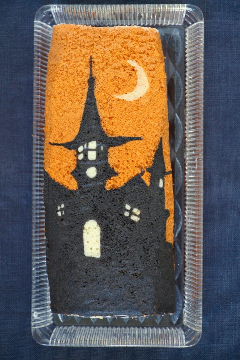 Halloweenroulade - en fabelagtig opskrift fra Bagvrk.dk.