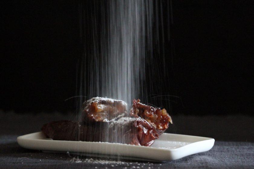 Æbleruller - en hurtig kage med få ingredienser fra Bagvrk.dk.