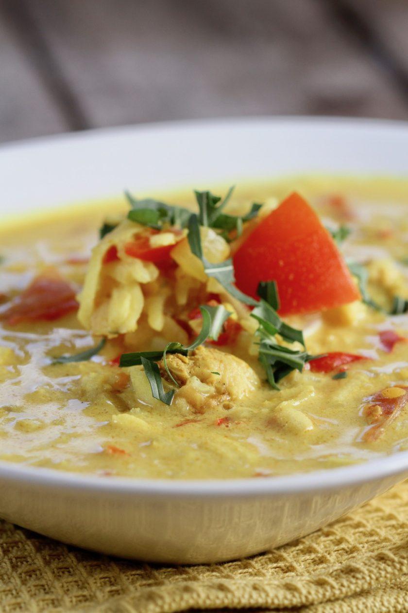 Mulligatawny Hurtig Fyldig Indisk Suppe Bagvrkdk