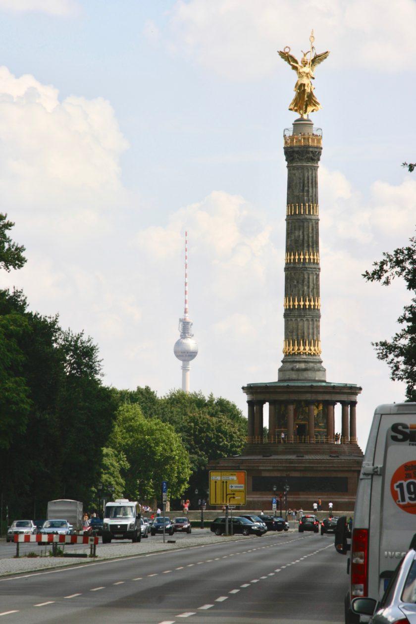 Sejrssøjlen, Guld-Else i Berlin.