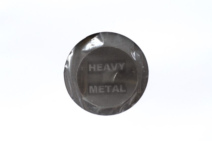 Heavy metal mærke på Tromle bagestål - Bagvrk.dk
