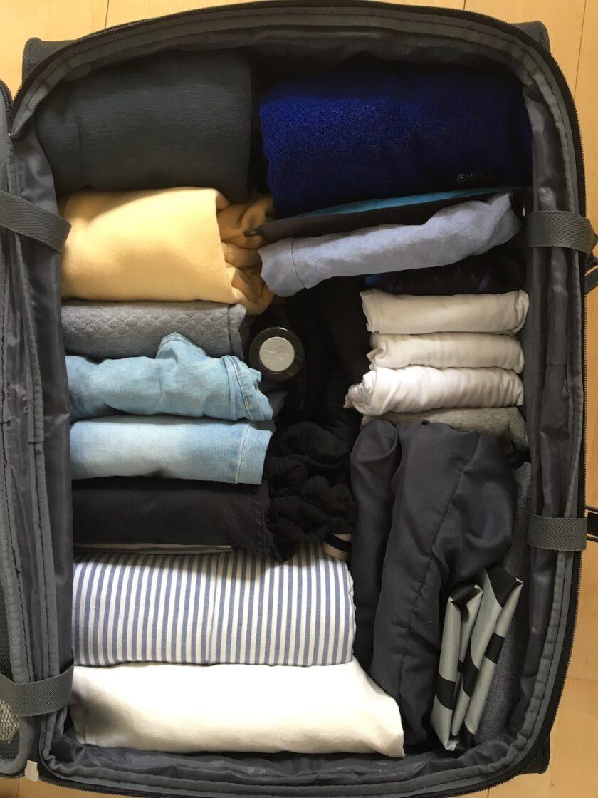Juniors kuffert pakket til studietur - en KonMari guide fra Bagvrk.dk