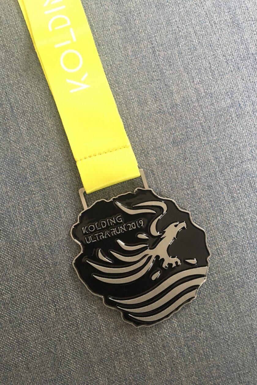 Medalje fra Kolding Ultra Run 2019 - Bagvrk.dk