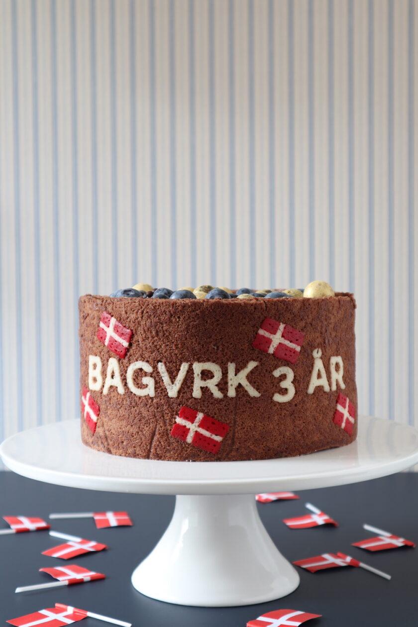 Death by chocolate på højformat - en fødselsdagskage fra Bagvrk.dk