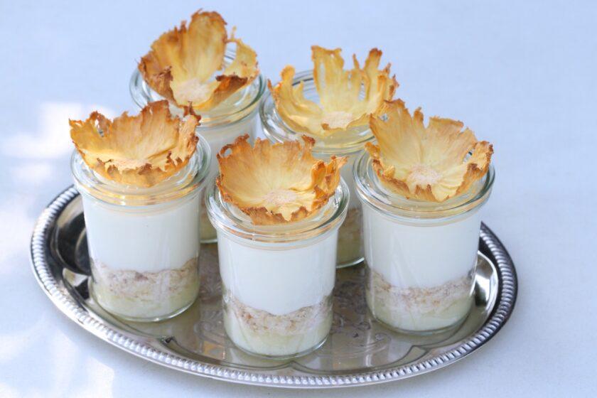 Pina colada dessert - en lækkker opskrift fra Bagvrk.dk