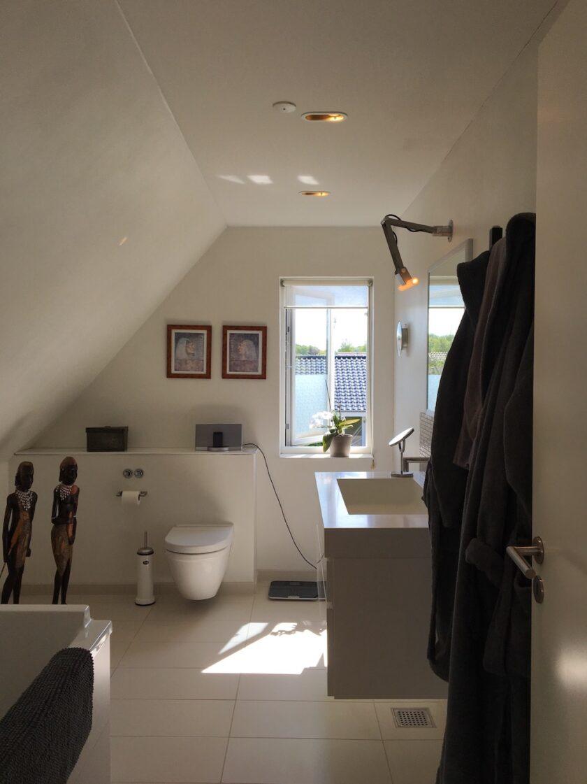 Badeværelse - lys - velvære - wellness Bagvrk.dk