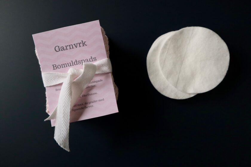 Lille gavebundt vatrondeller bomuldsrondeller Bagvrk.dk Garnvrk