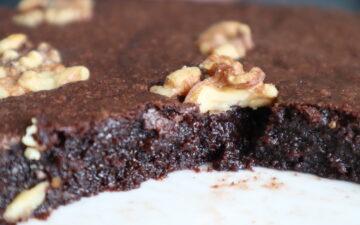 Agnetas chokoladekage - Kladdkaka