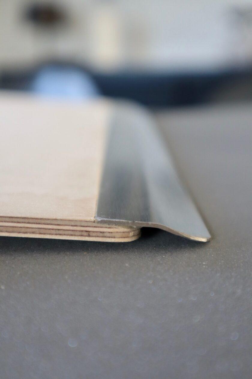 Pizzaspaden har aluminiumssnude, så det er holdbart Bagvrk.dk