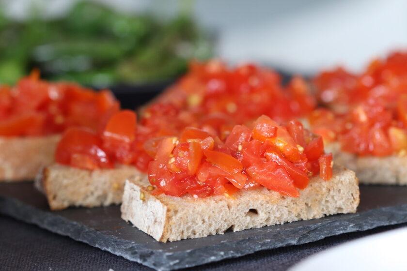 Brød med tomater pan con tomates Bagvrk.dk lav