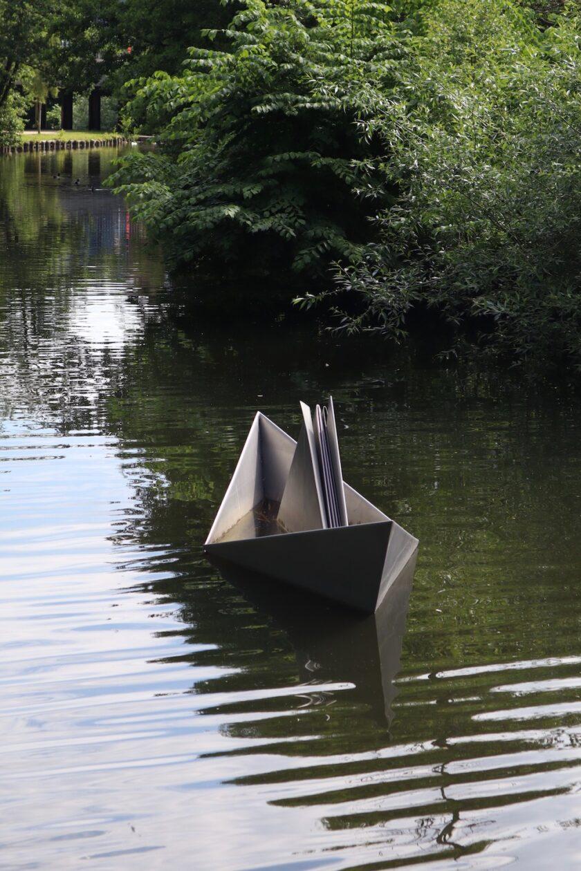 Papirbåden fra Den standhaftige tinsoldat Odense Bagvrk.dk